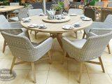 Unglaubliche Inspiration Gartenmbel Set Runder Tisch Und Sehr Gute within proportions 1200 X 794