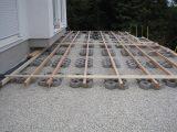 Unser Liebevoller Haus Und Gartenblog Unterkonstruktion Holzterrasse with regard to dimensions 1600 X 1200