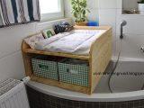 Vom Wiesengrund Wickelkommode Als Aufsatz Fr Die Badewanne pertaining to size 1600 X 1066