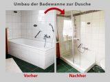 Wanne Zur Dusche Badewanne Raus Dusche Rein Bad Teilsanierung regarding sizing 2048 X 1540