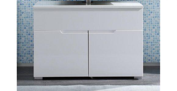 Waschbeckenunterschrank Spice Badezimmer Wei Hochglanz with sizing 1500 X 844