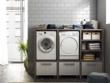 Waschkche Mbel Laundry 10 Legnobagno intended for measurements 997 X 997