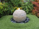 Wasserspiel Set Quellstein Kugel Saturn D40cm Granit Gartenbrunnen for size 1200 X 900