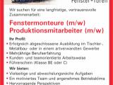 Wir Suchen Fenstermonteure Mw Und Produktionsmitarbeiter Mw intended for proportions 781 X 1024