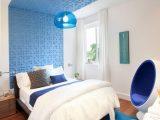 Wohnen In Blau Und Wei 50 Moderne Wohnideen with regard to proportions 800 X 1200
