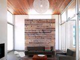 Wohnzimmer Holz Paravent Holz Decke Dielen Rustikale Einrichtung intended for measurements 907 X 1080