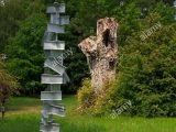 Zeitgenssische Skulptur Garten Burghley House Moderne Skulpturen within size 866 X 1390