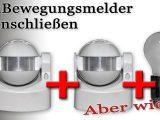 Zwei Bewegungsmelder Anschlieen Schaltplan In Videoform Von with measurements 1920 X 1080