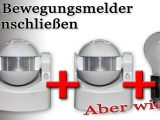 Zwei Bewegungsmelder Anschlieen Schaltplan In Videoform Von with regard to size 1920 X 1080